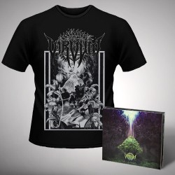 Virvum - Illuminance + Skull - CD DIGIPAK + T Shirt bundle