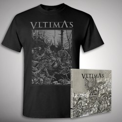 Vltimas - Something Wicked Triumphant Bundle - CD + T Shirt bundle (Men)
