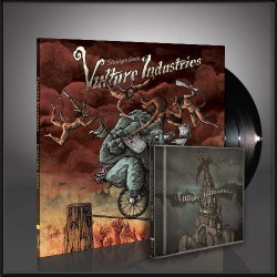 Vulture Industries - Stranger Times + The Tower - LP Gatefold + CD