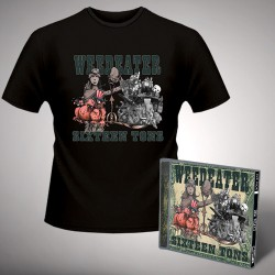 Weedeater - Sixteen Tons - CD + T Shirt bundle (Men)