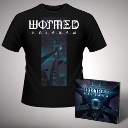Wormed - Krighsu + Pulsar - CD DIGIPAK + T Shirt bundle