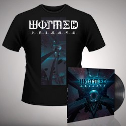 Wormed - Krighsu + Pulsar - LP Gatefold + TShirt Bundle