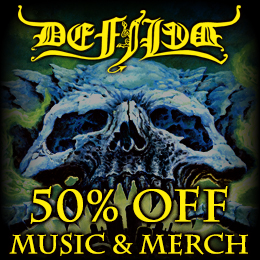 50% off on Defiled music & merch