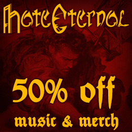 50% off on Hate Eternal music & merch