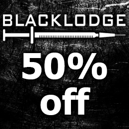 50% off on Blacklodge music!