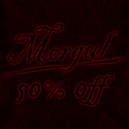 50% off on Morgul music!
