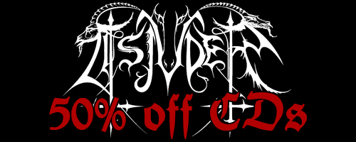 50% off on Tsjuder music!
