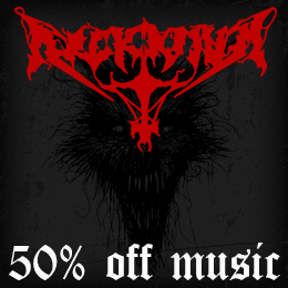 50% off on Arckanum music!
