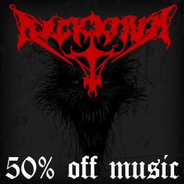 50% off on Arckanum music!