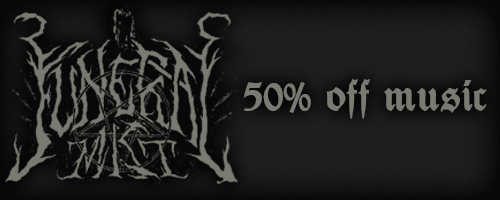 50% off on Funeral Mist music!