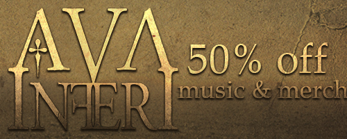 50% off on Ava Inferi music & merch!