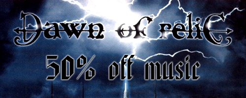 50% off on Dawn Of Relic music!