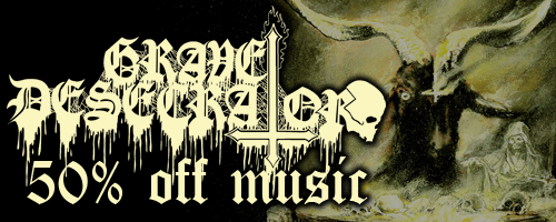 50% off on Grave Desecrator's 'Dust To Lust'!