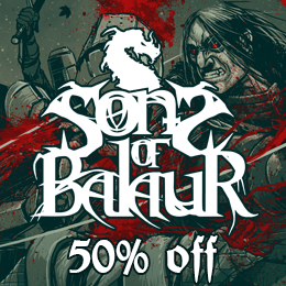 50% off on Sons of Balaur's 'Tenebris Deos'!