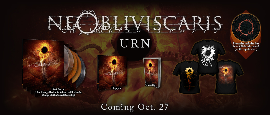 Australia's visionary NE OBLIVISCARIS return with their stunning new album 'Urn'. The album sees the forward thinking band hone their unique and expansive style that blends the best of both the extreme and the progressive sides of metal. Epic tracks like