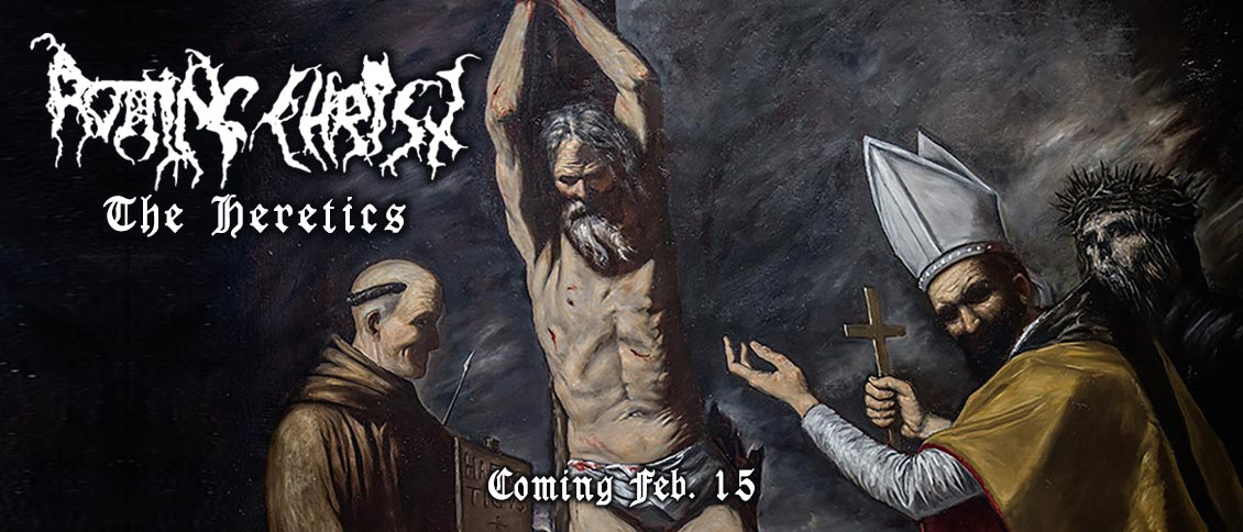Greek metal trailblazers ROTTING CHRIST return with their stunning new album 'The Heretics'. In a signature style honed by 30 years of toil and triumph, the quartet deliver heavy metal thunder so epic that it could have been forged by the gods themselves. The anthemic