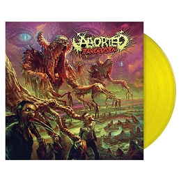 Get ABORTED's yellow vinyl exclusive to the Season of Mist shop
